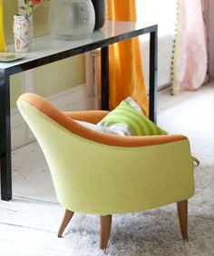 For a bright citrus drape is DG Brera Lino soft linen fabric