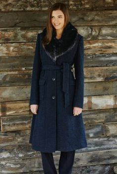 Smart Parka - this coat would look pair well with casual or dressy