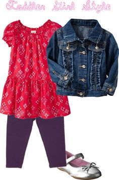"""""""Toddler Girl Style"""" by anmerritt on Polyvore"""