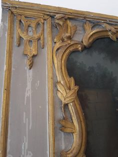 French Trumeau Mirror | From a unique collection of antique and modern mantel mirrors and fireplace mirrors at https://www.1stdibs.com/furniture/mirrors/mantel-mirrors-fireplace-mirrors/