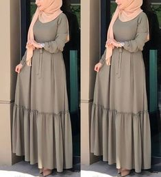 Maxi dresses with hijab styles – Just Trendy Girls Maxi dresses with hijab styles – Just Trendy Girls Modest Fashion Hijab, Modern Hijab Fashion, Muslim Women Fashion, Hijab Fashion Inspiration, Islamic Fashion, Abaya Fashion, Fashion Dresses, Hijab Chic, Hijab Mode