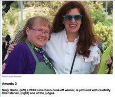 Winners! Winners! From the Heritage Museum's Lima Bean Faire. Read more on Chef Marian.com.