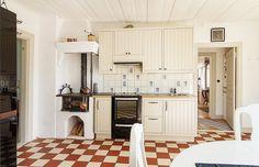 Swedish vedspis - wood cooker.