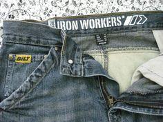 mens bilt ironworkers #0398 biker jeans 30x34 #bilt #ClassicStraightLeg