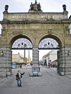 Pilsner Urquell Beer Brewery Gate - Plzeň, Czechia #brewery #pilsen #czechia #city Czech Beer, Beer Brewery, Prague Czech Republic, Europe Photos, Central Europe, Bratislava, Eastern Europe, Roots, Places To Go