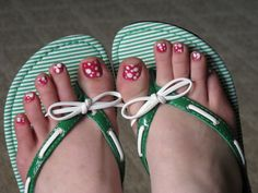 I love cute flip flops!