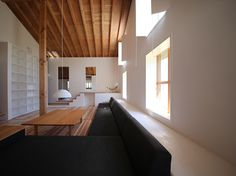 Yatsuya House in Aichi by Hitoshi Sugishita Architect and Associates Living Spaces, Living Room, Japanese Interior, Retail Interior, Japanese House, Minimalist Home, Home And Living, Beautiful Homes, Home Goods