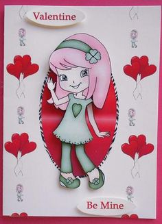 Annabella on Craftsuprint created by Eunice Roberts - I printed and cut out this…