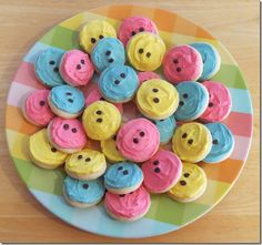 Lofthouse Button Cookies #lalaloopsy