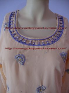 NOTE:PLEASE DON'T BUY THIS IF YOU DIDN'T BUY SALWAR KAMEEZ.IT IS ONLY NECKLINE DESIGN.IT IS NOT A SALWAR KAMEEZ.        1-BUY ANY UNSTITCHED SALWAR KA