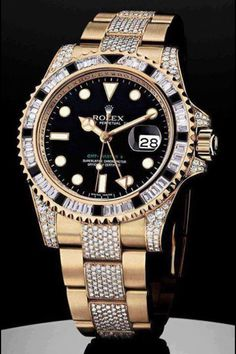 5bcfa05fe41 sydni Merriott- It fits in with the millionaire category because Rolex is a  super expensive brand for watches. No one would buy a watch with real gold  and ...