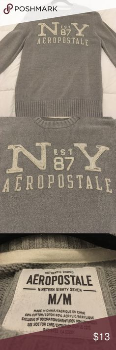 Aeropostale Sweater Made in China, 100% cotton, Worn very few times, Great Condition, Men's Size: M Aeropostale Shirts Sweatshirts & Hoodies