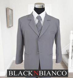 christopher's suit, except white