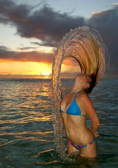 Hair Whipping - Cool Pictures
