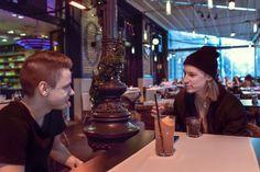 Marci arról is mesélt, hogyan került a zene csatornához. - Fotó: Vajda Anita - Hír7