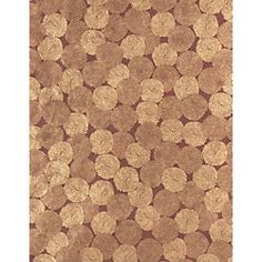 Gold on chocolate mums paper
