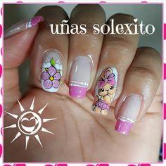 Cute Nail Art, Toe Nails, Nail Polish, Stickers, Finger Nails, Stuff Stuff, Amor, Polish Nails, Ball Jointed Dolls