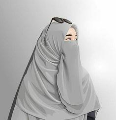 bagaimana seharusnya seorang muslimah menyikapi lawan jenis  Arab Girls, Muslim Girls, Muslim Women, Niqab Fashion, Muslim Fashion, Hijabi Girl, Girl Hijab, Cover Wattpad, Cartoon Girl Images