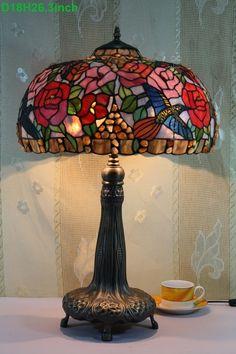 Humming Bird Tiffany Lamp 18S10-41T500