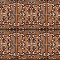 Textures Texture seamless | Ceiling copper metal panel texture seamless 10393 | Textures - MATERIALS - METALS - Panels | Sketchuptexture