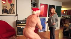 Naked Xmas  Watch as I surprise my mother with the naked trainer! She loses her shit! #outoffwill #athomewithsamjones #nyccomedyseries