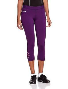 X-Small, Berry Nice, Zumba Fitness Women's Craveworthy Capri Legging
