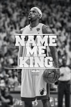 THE KING... LBJ OF THE MIAMI HEAT