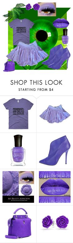 """Passion and Purple"" by mo-g-v ❤ liked on Polyvore featuring Strenesse, Deborah Lippmann, Proenza Schouler, Fendi and Bling Jewelry"