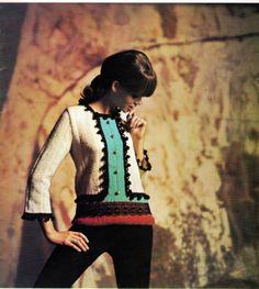 60's Matador Pullover Fringe Boho Top with Belled by DivineDigital, $3.25