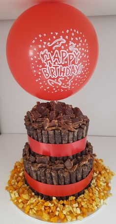 Biltong cake... to place order ...info@chocdelite.co.za 80th Birthday, Happy Birthday, Birthday Cakes, Biltong, Big Cakes, Mexican Party, Food Decoration, Mason Jar Diy, Savoury Cake
