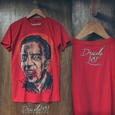 Hangerwood T Shirt Dracula 1431