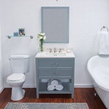 We Currently Offer Ronbow Newcastle Bathroom Vanity Cabinet Base In Ocean  Grays, Model Number In Our Atlanta Showroom. Visit Us And See Our Large  Showroom ...