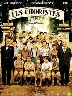 The Chorus (Les Choristes) - Directed by Christophe Barratier. With FranCois Berleand, Gerard Jugnot, Jean-Baptiste Maunier, Jean-Paul Bonnaire and Kad Merad. The Best Films, Great Movies, Popular Movies, Jean Baptiste Maunier, Gerard Jugnot, Jacques Perrin, Film Mythique, Bon Film, French Movies