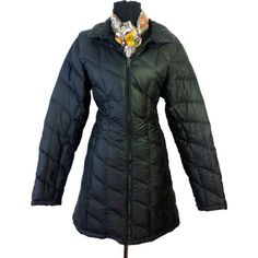 Details about WEEKEND By MAX MARA Womens Green Goose Down Jacket ... : patagonia long quilted down coat - Adamdwight.com