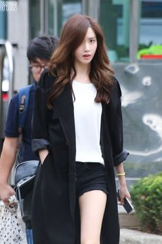 Designer Clothes, Shoes & Bags for Women Snsd Fashion, Korean Fashion, Girl Fashion, Fashion Outfits, Yoona Snsd, Sooyoung, Yuri, Girl's Generation, Park Shin Hye