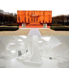 Bureau Betak tranforms Musee Rodin gardens for Dior Paris show