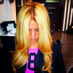beautiful blonde #hilightssalon