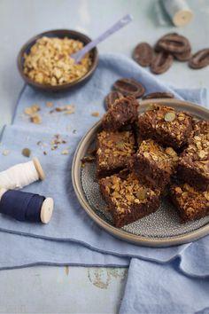 Recette Brownies bananes granolas - Besly -