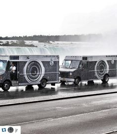 Excited for @jr's Les Bosquets in Toronto installation at DX on Oct 3 for #snbTO. #design #art #Repost from @jr: Our @insideoutproject photo booth trucks on our way to Toronto for the Nuit Blanche ! @jkscatena @etienne #Robin #Norman #niagarafalls by designexchange