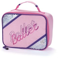 f8ef12e725bf Dance Bags · Sequin Ballet Lunch Box at You Go Girl Dancewear  http   www.yougogirldancewear