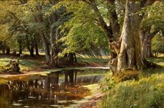 paintings Peder Monsted