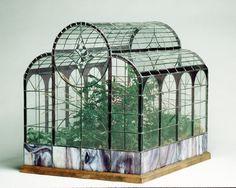 Victorian Stained Glass Terrariums by Ron Gladkowski