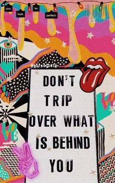 Don't trip over what is behind you. mindset you are strong think good things empowerment thoughts good vibes quote graphic inspirational motivational positivity self growth love powerful limiting belief Positive Vibes, Positive Quotes, Motivational Quotes, Inspirational Quotes, The Words, Cute Quotes, Happy Quotes, Fond Design, Photographie Portrait Inspiration