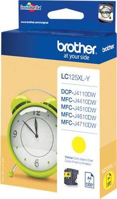 #Brother lc-125 cartuccia d'inchiostro giallo  ad Euro 15.84 in #Brother #Cartucce