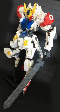 GUNDAM GUY: LEGO: Gundam Barbatos Lupus - MOC