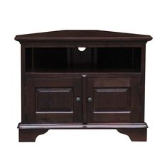 Mahogany Corner TV Unit
