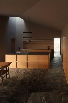 ブログ | 深山知子一級建築士事務所・アトリエレトノ - Part 2 Arch Interior, Cafe Interior, Kitchen Interior, Interior Architecture, Interior Design, Kitchen And Bath Design, Kitchen Dinning, Japanese Interior, Furniture Layout