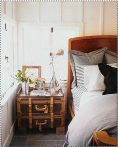 Louis Vuitton Suitcause nightstand