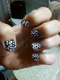 Just did my nails. <3