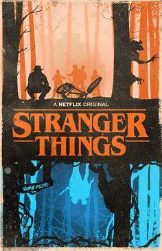 Stranger things fan art work. #StrangerThings #Netflix #FanArtwork…